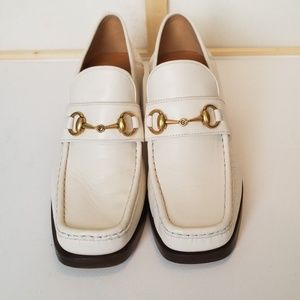 New Gucci Vegas Horsebit Loafer Pumps